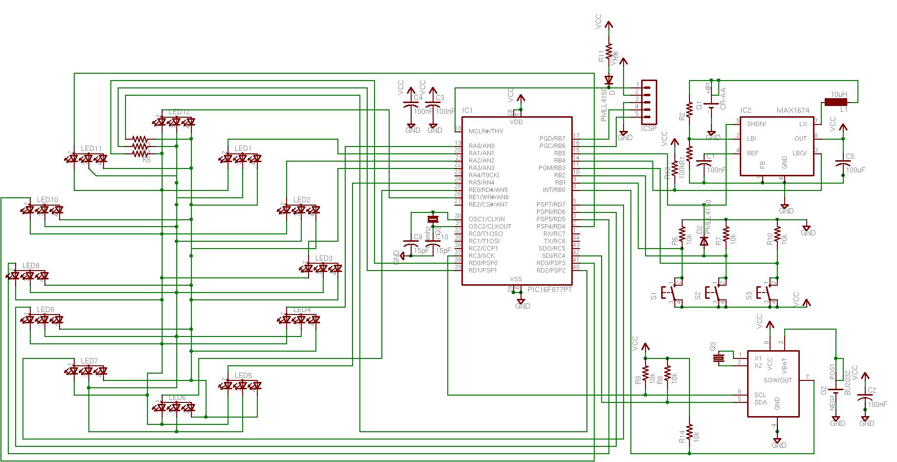 blake's conflabatorium digital clock ii electronic drawing software 12 Volt LED Tail Lights Diagram  7 Segment Display Wiring Diagram Light Controller Wiring Diagram Tir3 Wiring Diagram